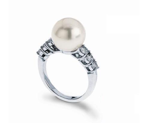 著名意大利设计师giovanna broggian精选铂金搭配珍珠,为